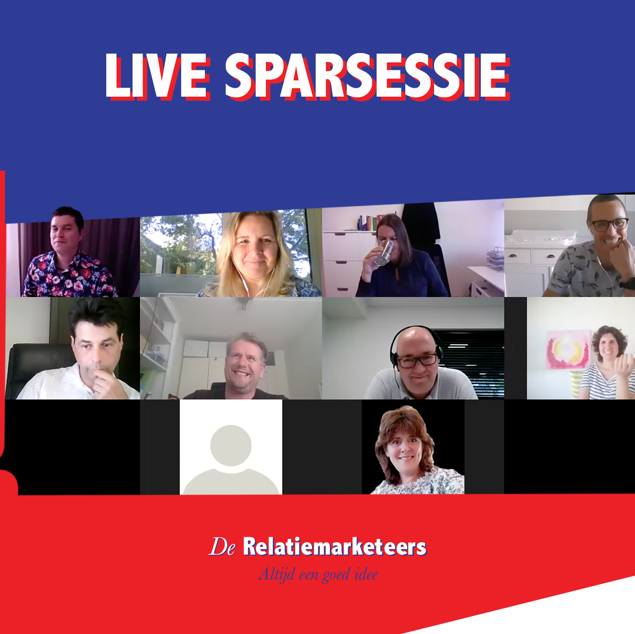 Sparsessie podcast live